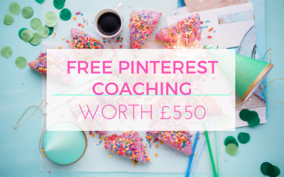 WIN a Free Pinterest Deluxe Mentoring Package worth £550