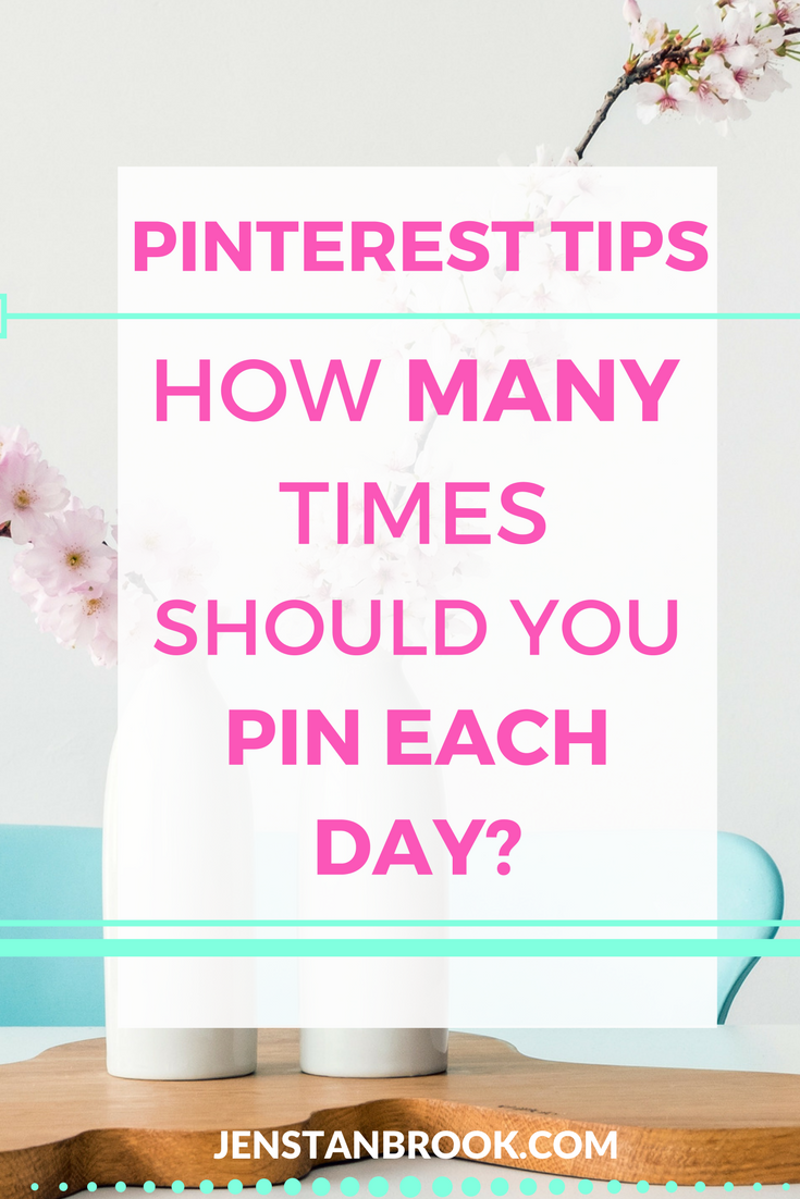 How many pins do you need to pin on Pinterest per day. Let's debunk some myths and find out what number of pins is good for your blog or business. I think you'll be surprised.
